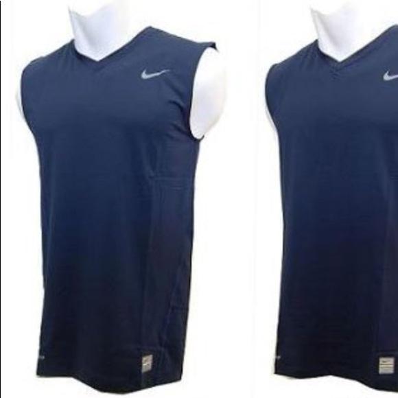 3ae4a2ea Nike navy pro combat compression shirt top jersey.  M_5a902b67739d487aa7d78732